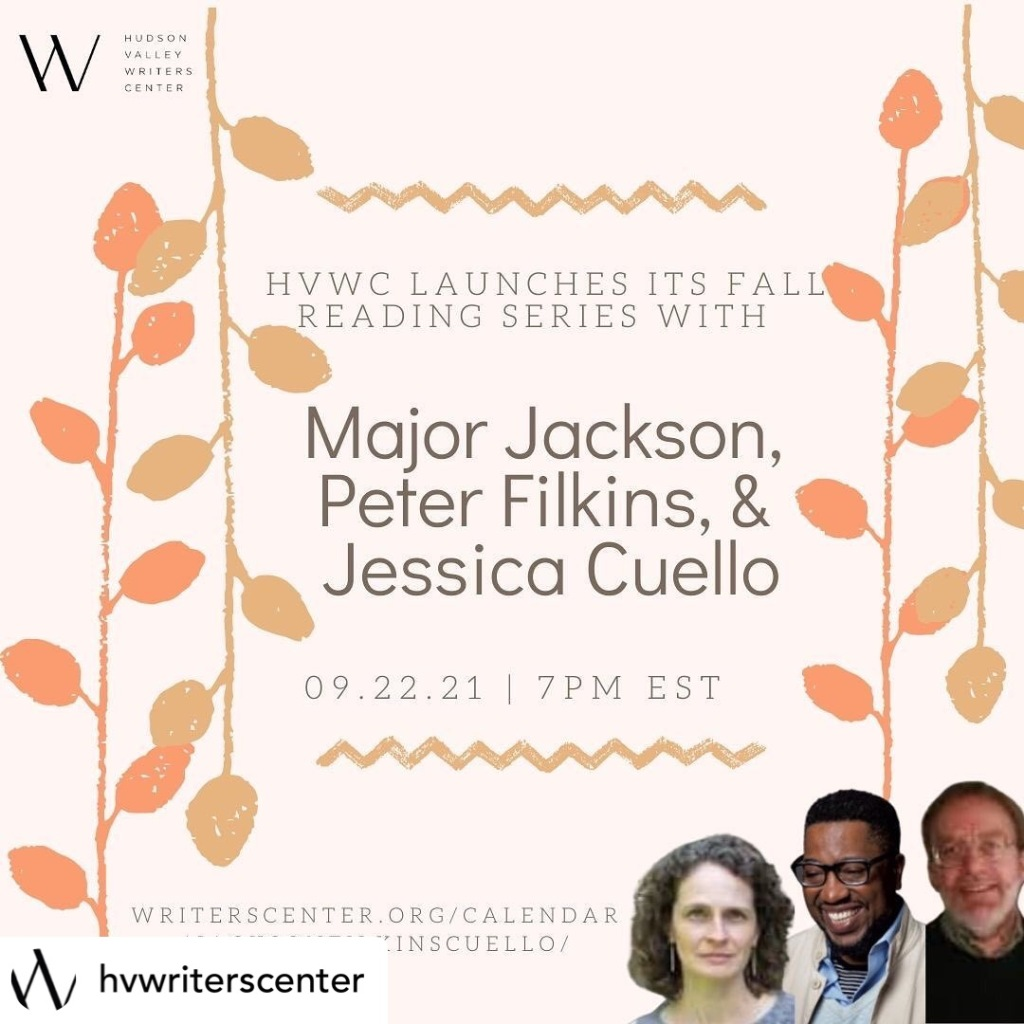 Flyer for Hudson Valley Writers Center event